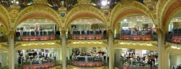 Galeries Lafayette, here we come!